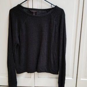 Banana Republic 2020 linen knit top - M - Black